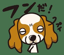 iinu - Cavalier King Charles Spaniel sticker #7147957