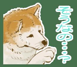 6 kinds of Japanese dog sticker sticker #7151562