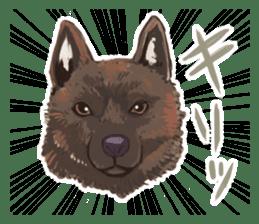 6 kinds of Japanese dog sticker sticker #7151566