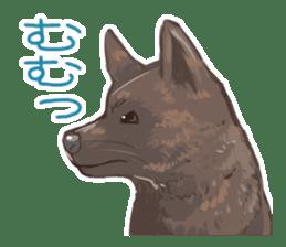 6 kinds of Japanese dog sticker sticker #7151571