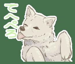 6 kinds of Japanese dog sticker sticker #7151576