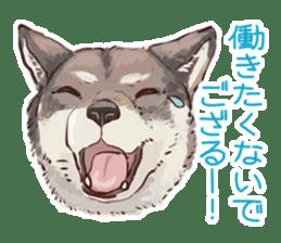 6 kinds of Japanese dog sticker sticker #7151584