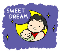 Lovely Mama (English) sticker #7154087