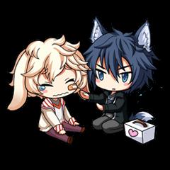 Rabbit-man & Wolf-man Eng.Ver.