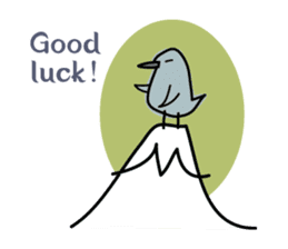 Birds in the forest English ver. sticker #7155896