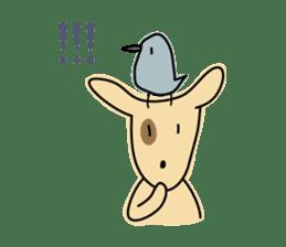 Birds in the forest English ver. sticker #7155914