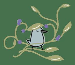 Birds in the forest English ver. sticker #7155920
