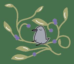 Birds in the forest English ver. sticker #7155921