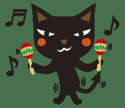 Black Cat Meowmon <English> sticker #7157449