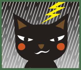 Black Cat Meowmon <English> sticker #7157451