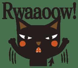 Black Cat Meowmon <English> sticker #7157456