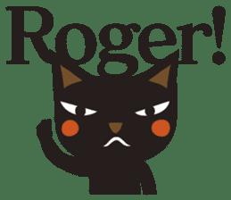 Black Cat Meowmon <English> sticker #7157459