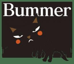 Black Cat Meowmon <English> sticker #7157464
