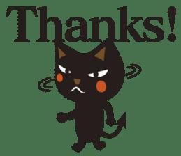 Black Cat Meowmon <English> sticker #7157475