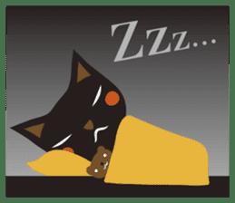 Black Cat Meowmon <English> sticker #7157478