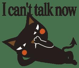 Black Cat Meowmon <English> sticker #7157484