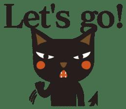 Black Cat Meowmon <English> sticker #7157485