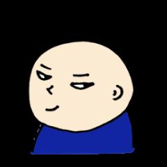 40 bald men