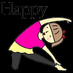 Yoga girl(English)