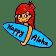 Happy Aloha ! Hawaii sticker #7161161