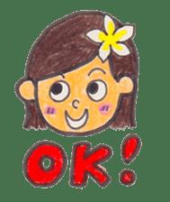 Happy Aloha ! Hawaii sticker #7161163