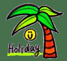 Happy Aloha ! Hawaii sticker #7161168
