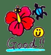 Happy Aloha ! Hawaii sticker #7161185