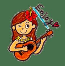Happy Aloha ! Hawaii sticker #7161187