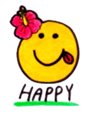 Happy Aloha ! Hawaii sticker #7161190