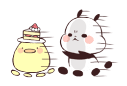 Yururin Panda ver.3 sticker #7162971