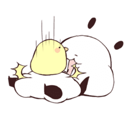 Yururin Panda ver.3 sticker #7162973