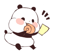 Yururin Panda ver.3 sticker #7162974