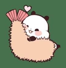 Yururin Panda ver.3 sticker #7162992