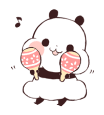 Yururin Panda ver.3 sticker #7163000
