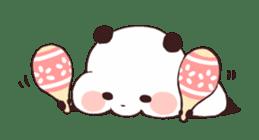 Yururin Panda ver.3 sticker #7163001