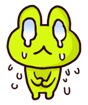 SMILE the frog 2 sticker #7168303