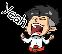 Kha-rom : The player (EN) sticker #7173275