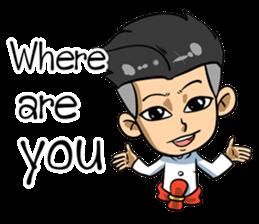 Kha-rom : The player (EN) sticker #7173279