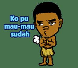 Pace & Mace YaYa - Love Papua sticker #7174110