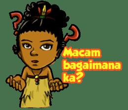 Pace & Mace YaYa - Love Papua sticker #7174113