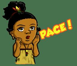 Pace & Mace YaYa - Love Papua sticker #7174115