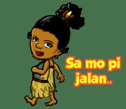 Pace & Mace YaYa - Love Papua sticker #7174116