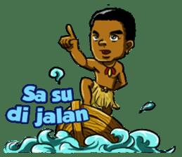 Pace & Mace YaYa - Love Papua sticker #7174118