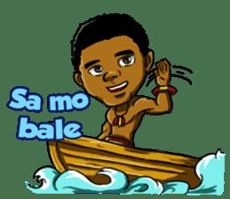 Pace & Mace YaYa - Love Papua sticker #7174119