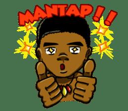 Pace & Mace YaYa - Love Papua sticker #7174122