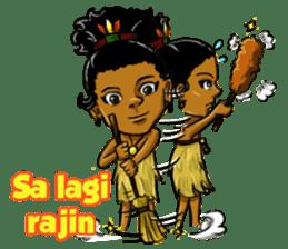 Pace & Mace YaYa - Love Papua sticker #7174123
