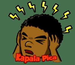 Pace & Mace YaYa - Love Papua sticker #7174124
