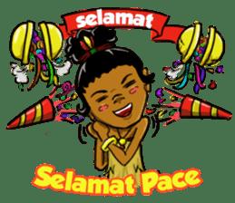 Pace & Mace YaYa - Love Papua sticker #7174128