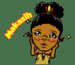Pace & Mace YaYa - Love Papua sticker #7174129