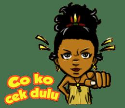Pace & Mace YaYa - Love Papua sticker #7174133